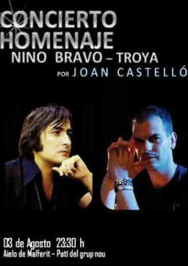 Concierto Homenaje a Nino Bravo en Aielo de Malferit