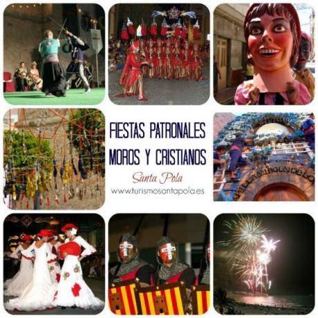 MOORS AND CHRISTIANS FESTIVALS SANTA POLA 2015