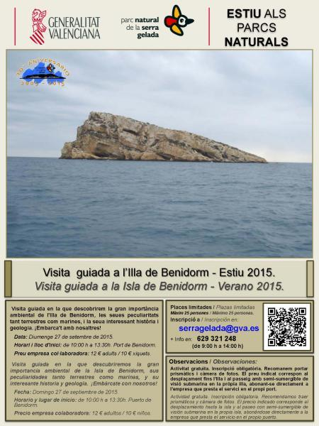 Visita guiada a la Isla de Benidorm