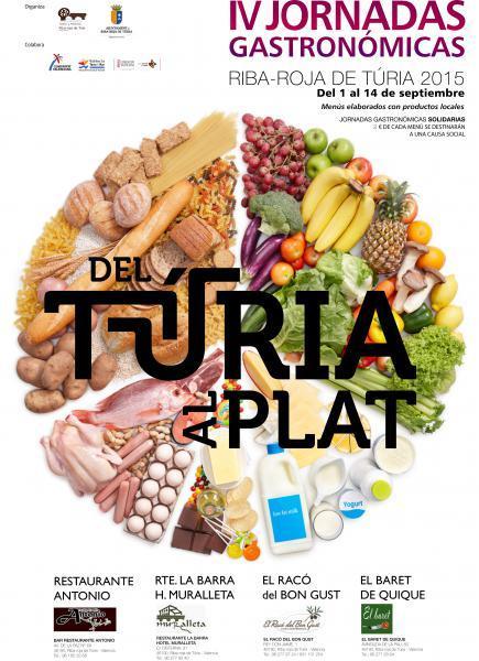 IV Jornadas Gastronómicas en Riba-roja de Túria