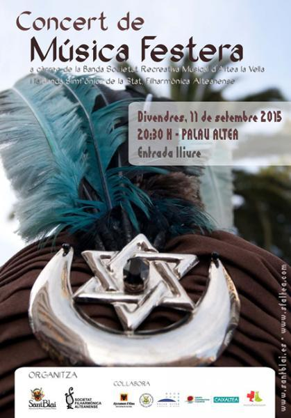 Concert de Música Festera Altea 2015