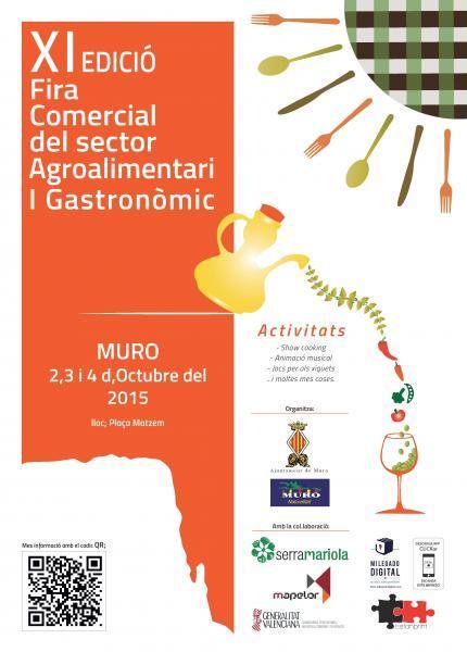 XI EDICIÓN FERIA COMERCIAL DEL SECTOR AGROALIMENTARIO Y GASTRONÓMICO