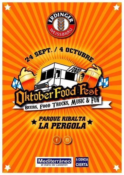 Oktober Food Fest en Castellón de la Plana