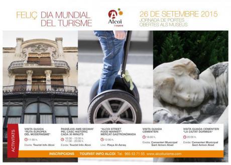 Alcoy, Día Mundial del Turismo 2015. Sé turista en tu ciudad.