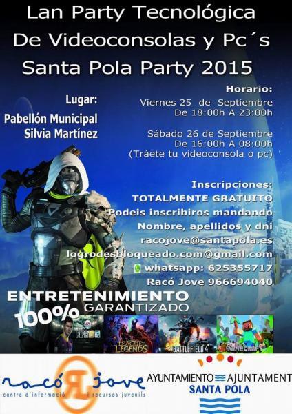 Lan Party Santa Pola