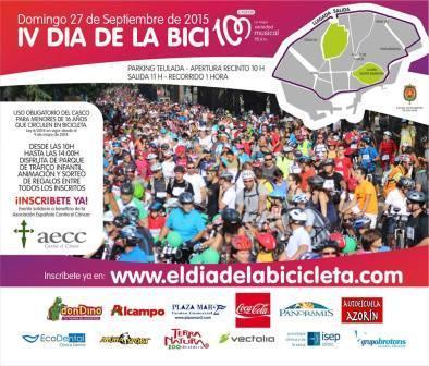 IV Día de la Bici Cadena 100 2015