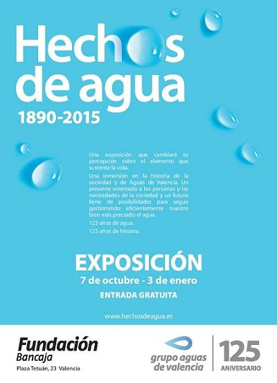 """Exposición """"Hechos de agua"""", Aguas de Valencia"""
