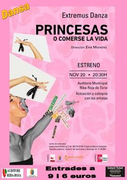 PRINCESAS O COMERSE LA VIDA