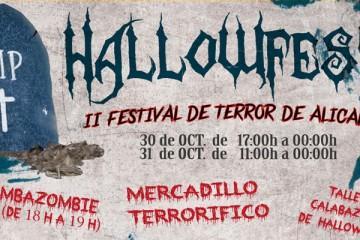 HALLOWFEST 2015. II Festival de terror de Alicante