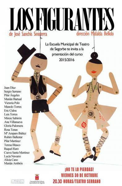 "Obra de Teatro ""Los Figurantes"""