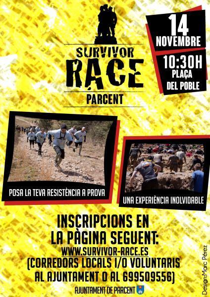 Survivor Race Parcent.