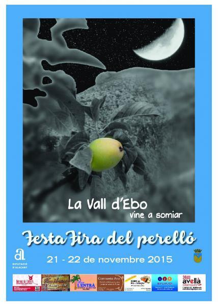 Fiesta-Feria gastronómica del perelló en La Vall d'Ebo