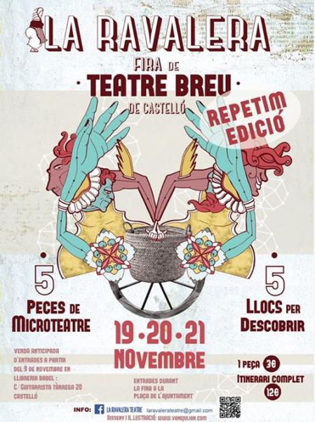 """Feria de teatro breve """"La Ravalera"""", Castellón"""