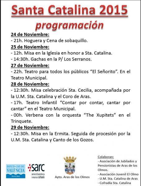 SANTA CATALINA 2015 - Aras de los Olmos