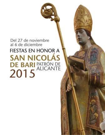 Programa de Fiestas en Honor a San Nicolás de Bari Patrón de Alicante 2015