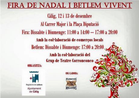 Feria de Navidad y Belén Viviente de Càlig