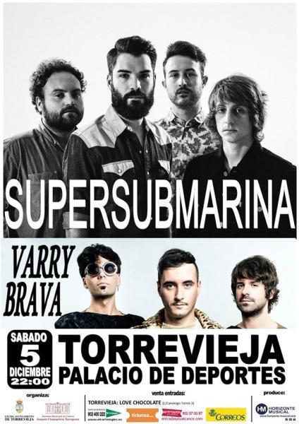 CONCIERTO SUPERSUBMARINA & VARRY BRAVA