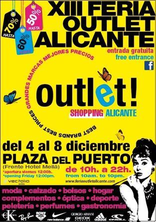XIII Feria Outlet Alicante 2015