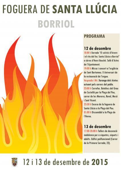 Fiestas de Santa Lucía Borriol