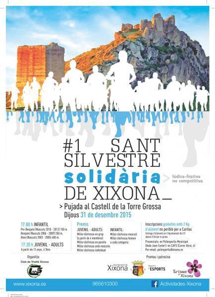 I San Silvestre Solidária de Xixona