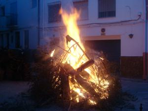 Hogueras de San Sebastián (The Saint Sebastian bonfires)