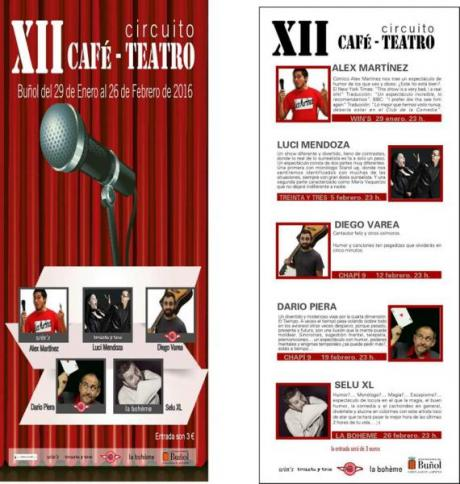 XII Circuito Café-Teatro. Buñol 2016