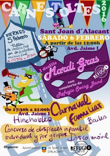 Carnaval San Juan de Alicante 2016