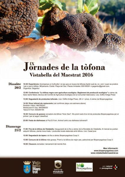 IX Jornada de la trufa en Vistabella