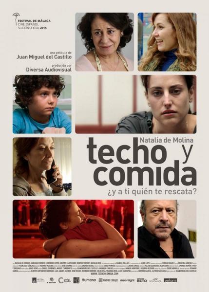 Cine: Techo y comida
