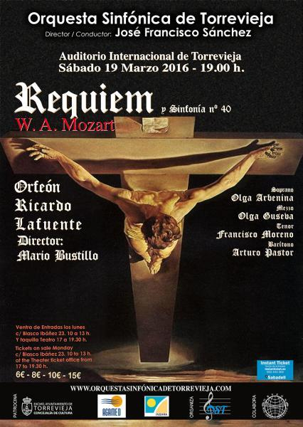 Requiem y Sinfonia nº40. Mozart