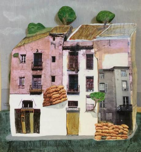 """Painting """"Jardín ambulante"""""""
