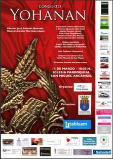 Concierto Yohanan en San Miguel de Salinas