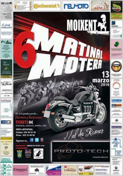 "6ª Matinal Motera ""Mel de Romer"""