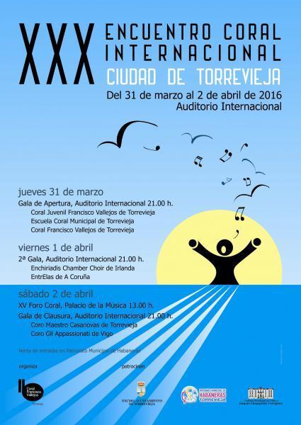 XXX ENCUENTRO CORAL INTERNACIONAL CIUDAD DE TORREVIEJA