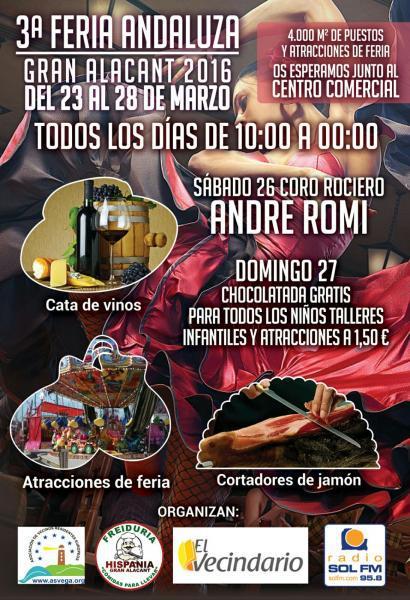 3rd Andalusian Fair in Gran Alacant