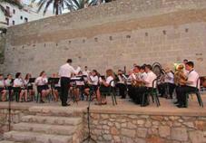 XXIV Festival de bandes de música ciutat de Peñíscola. Banda de música Verge de la Ermitana