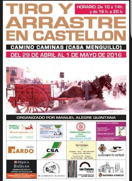 Tiro y arrastre en Castellón