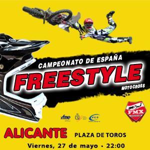 Campeonato de España Freestyle Motocross Alicante 2016