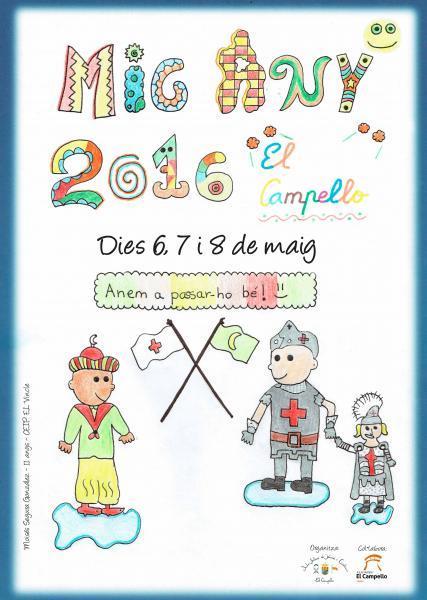 Fiestas de Mig Any de Moros y Cristianos El Campello 2016