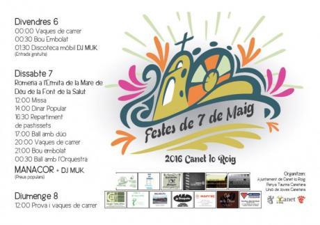 Fiestas del 7 de mayo o romería a la Font de la Salut en Canet Lo Roig
