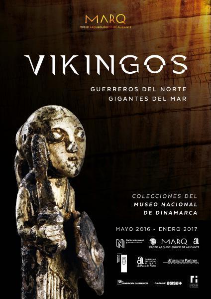 """Exposición """"Vikingos.Guerreros del Norte.Gigantes del Mar"""" en el MARQ 2016"""