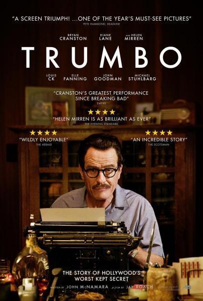 Cine: Trumbo. La lista negra de Hollywood