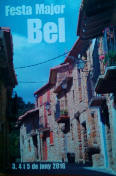 Fiesta Mayor de Bel