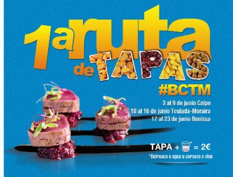 1ª Ruta de tapas #BCTM