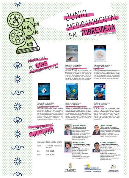 Programa de Cine Medioambiental en Torrevieja
