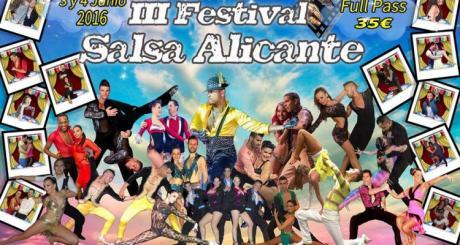 III EDICIÓN DEL FESTIVAL SALSA ALICANTE Junio 2016