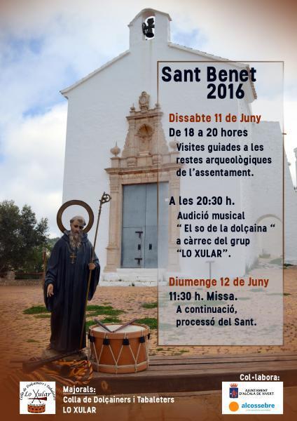 FESTIVIDAD SANT BENET 2016 EN ALCOSSEBRE