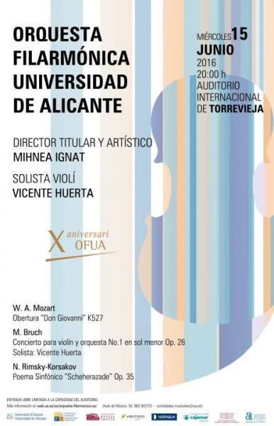 Orquesta Filarmónica Universidad Alicante