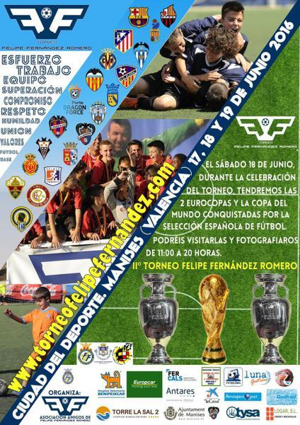 IIº Torneo alevín Felipe Fernández Romero en Manises. 2016