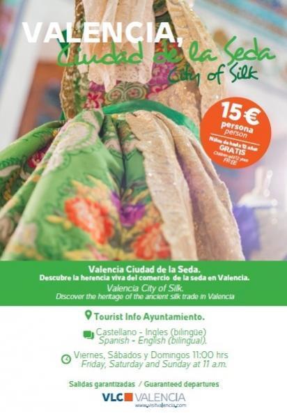 Nuevo Tour: Valencia, Ciudad de la Seda